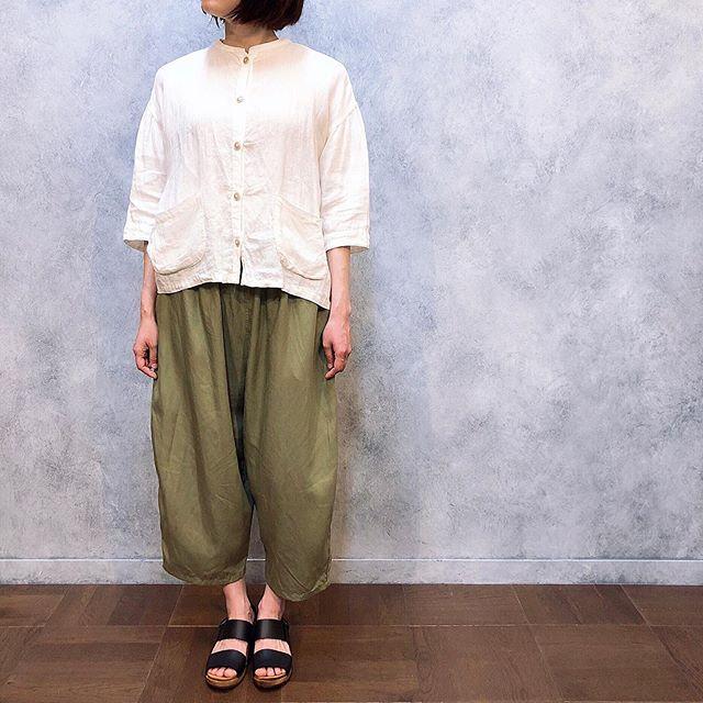 ..tops...#yarra bottoms...#yarra shoes...#expert159㎝...営業時間 10:00〜19:00.#愛媛#松山#大街道#ehime#matsuyama#BlessofBless#セレクトショップ#19ss#今日のコーディネート#お洒落さんと繋がりたい - from Instagram