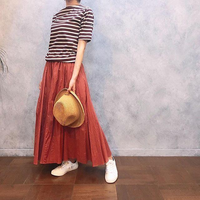 ..tops...#saintjames bottoms...#cloche shoes...#armen hat...#ca4la 152㎝...営業時間 10:00〜19:00.#愛媛#松山#大街道#ehime#matsuyama#BlessofBless#セレクトショップ#19ss#今日のコーディネート#お洒落さんと繋がりたい - from Instagram