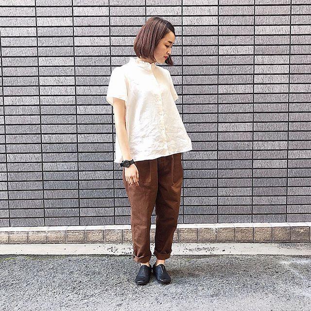 "..tops...#parkesbottoms...#harvestyshoes...#volare159㎝.#ハーベスティ の新作""easy egg long pants""入荷しております!..営業時間 10:00〜19:00.#愛媛#松山#大街道#ehime#matsuyama#BlessofBless#セレクトショップ#19ss#今日のコーディネート#お洒落さんと繋がりたい - from Instagram"