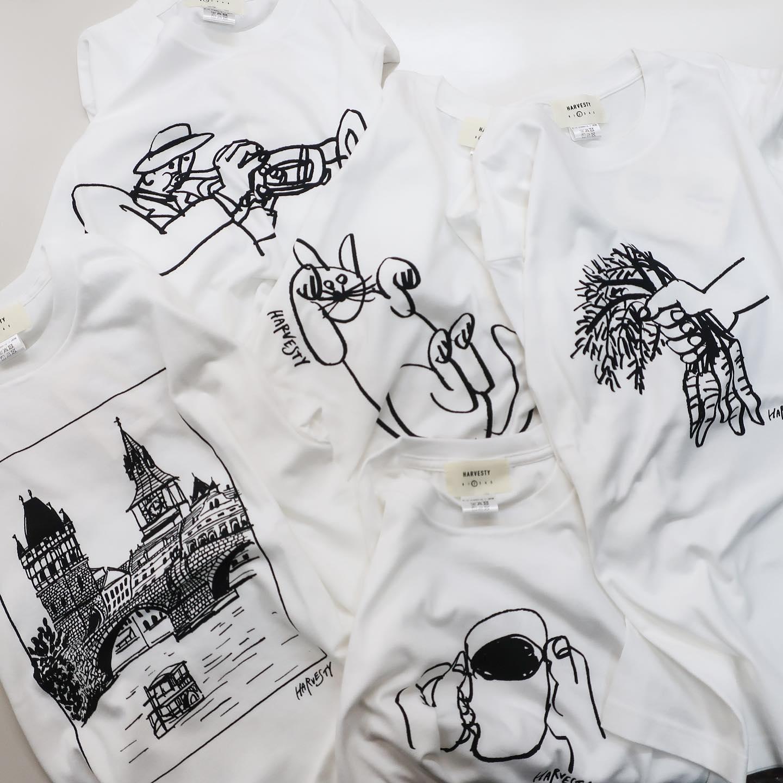 ・・@harvesty_official  #harvesty のTシャツが届きました!昨年も大人気だったイラストTシャツ、ゆるいイラストがとても可愛いです️サイズ感は大き過ぎず、小さ過ぎず、とても使いやすいので細身のパンツにも、harvestyなどのボリューミーなパンツにも合わせやすいかと思います最後の画像が現在の店頭に並んでいるものになります!DMでのお問い合わせもお待ちしております!・・#愛媛#松山#大街道#ehime#matsuyama#BlessofBless#セレクトショップ#今日のコーデ#お洒落さんと繋がりたい#2021ss#21ss#fudge部#fudge#cluel#wear#fashion#Tシャツ#tshirt #夏コーデ#半袖#カジュアルコーデ#プリントTシャツ#シンプルコーデ - from Instagram